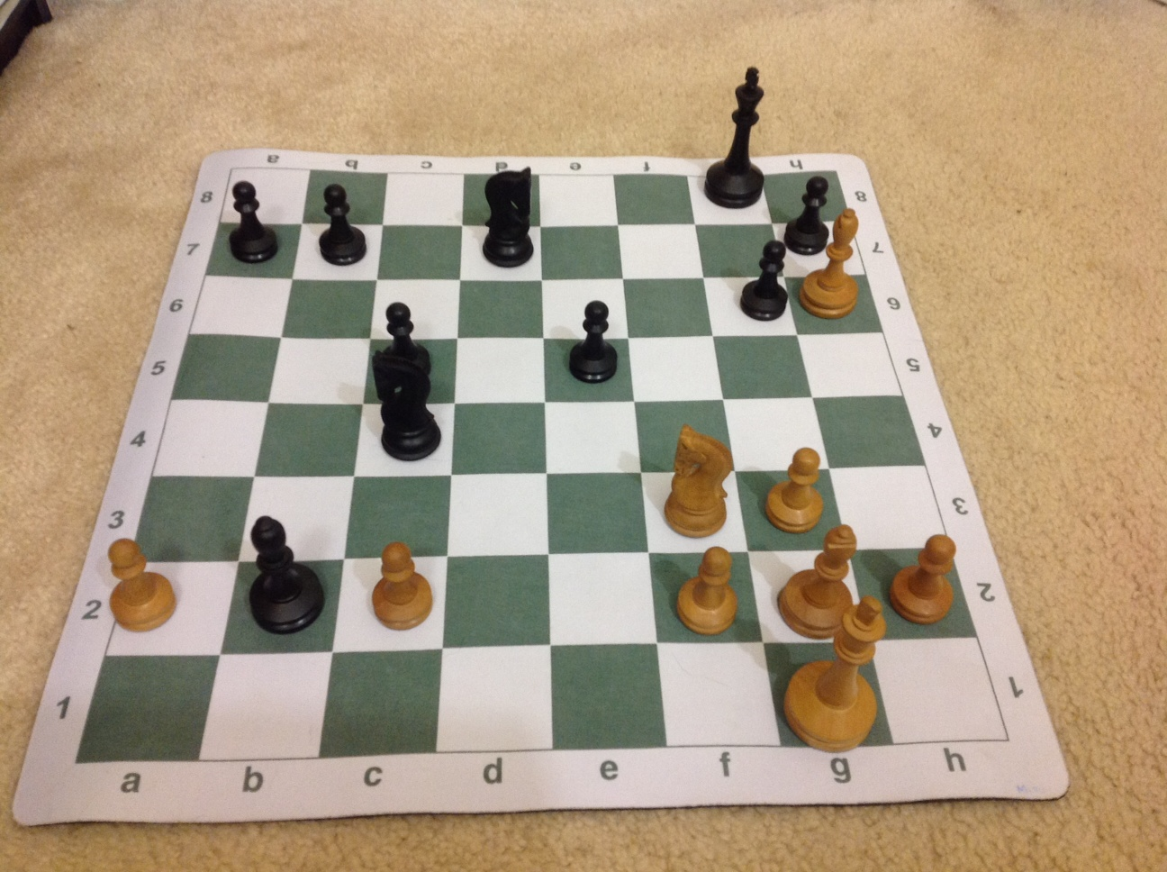 Training position 4 White to move who is better and why